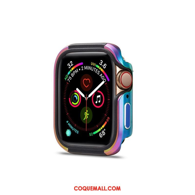 Étui Apple Watch Series 3 Tendance Protection Multicolore, Coque Apple Watch Series 3 Personnalité Border Beige