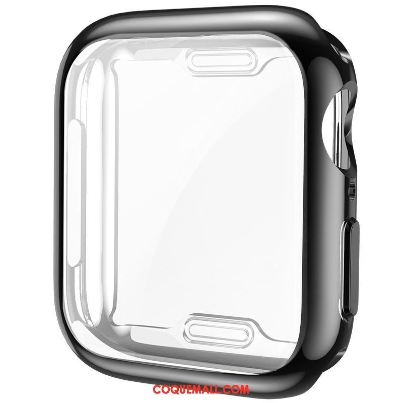 Étui Apple Watch Series 4 Membrane Très Mince Silicone, Coque Apple Watch Series 4 Incassable Placage