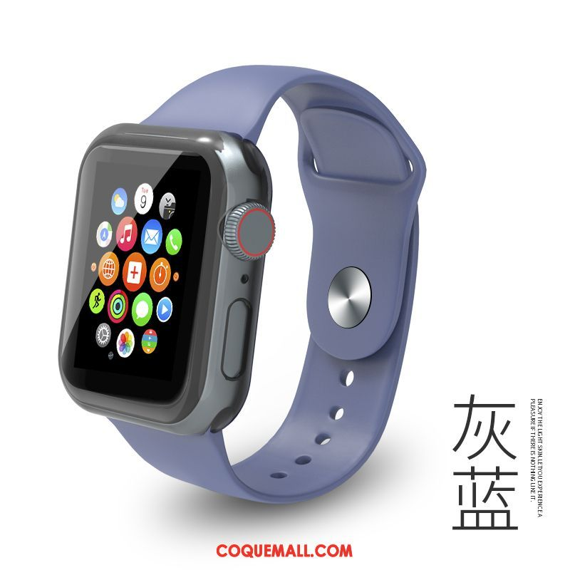 Étui Apple Watch Series 5 Protection Personnalité Tendance, Coque Apple Watch Series 5 Mode Silicone