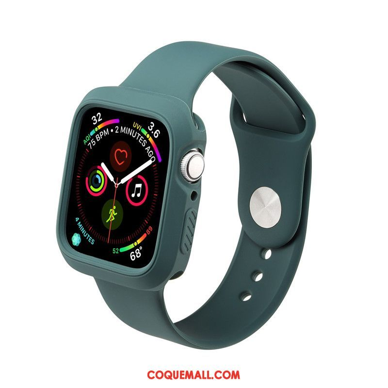 Étui Apple Watch Series 5 Tout Compris Imperméable Sport, Coque Apple Watch Series 5 Silicone Tendance