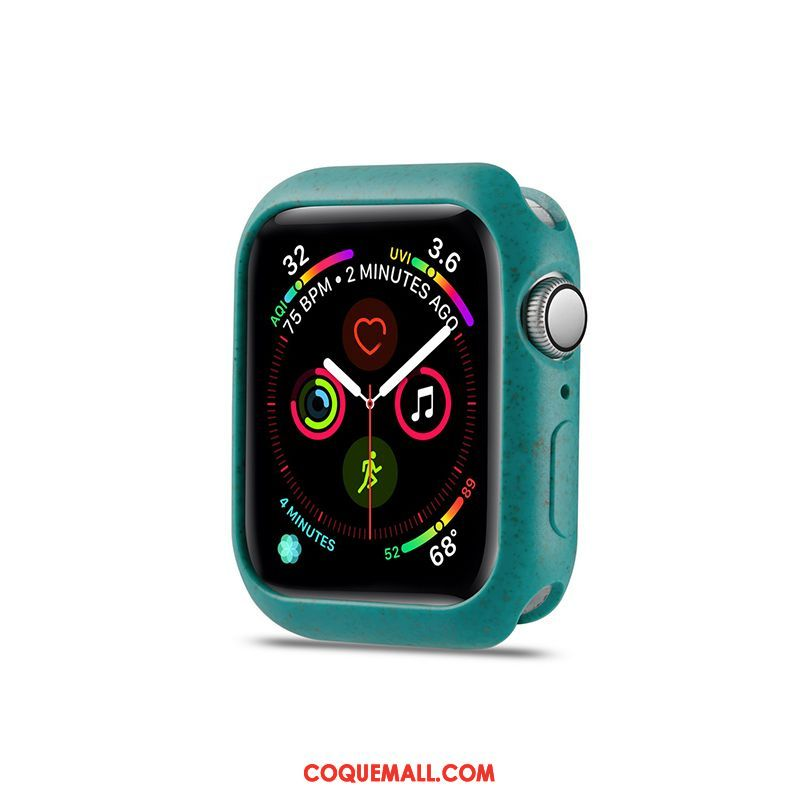 Étui Apple Watch Series 5 Vert Tout Compris Protection, Coque Apple Watch Series 5