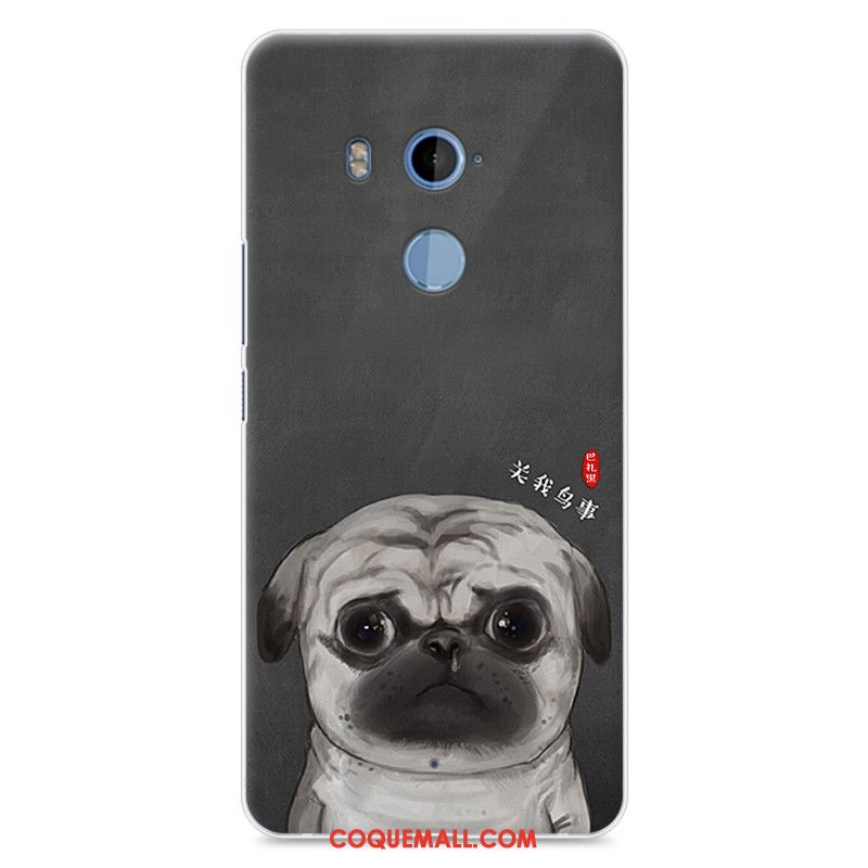 Étui Htc U11+ Charmant Silicone Protection, Coque Htc U11+ Dessin Animé Incassable