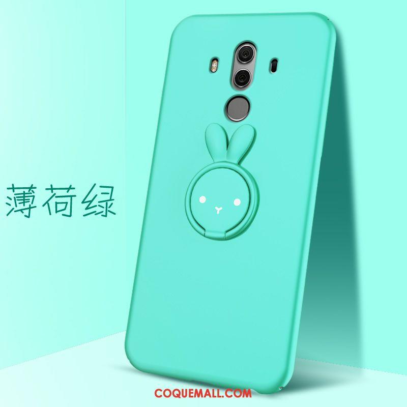 Étui Huawei Mate 10 Pro Support Difficile Téléphone Portable, Coque Huawei  Mate 10 Pro Magnétisme Vert