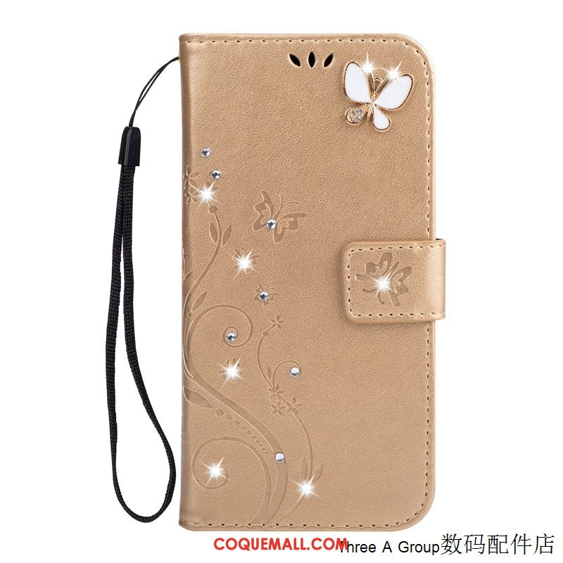 Étui Huawei Mate 20 Rs Fluide Doux Strass Incassable, Coque Huawei Mate 20 Rs Or Silicone
