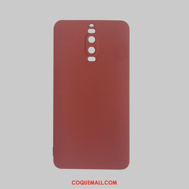 coque silicone rouge huawei mate 9