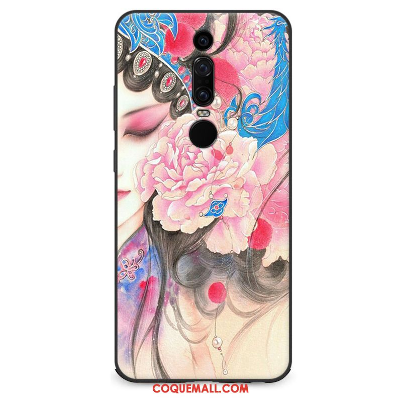 Étui Huawei Mate Rs Fluide Doux Protection Tendance, Coque Huawei Mate Rs Créatif Silicone