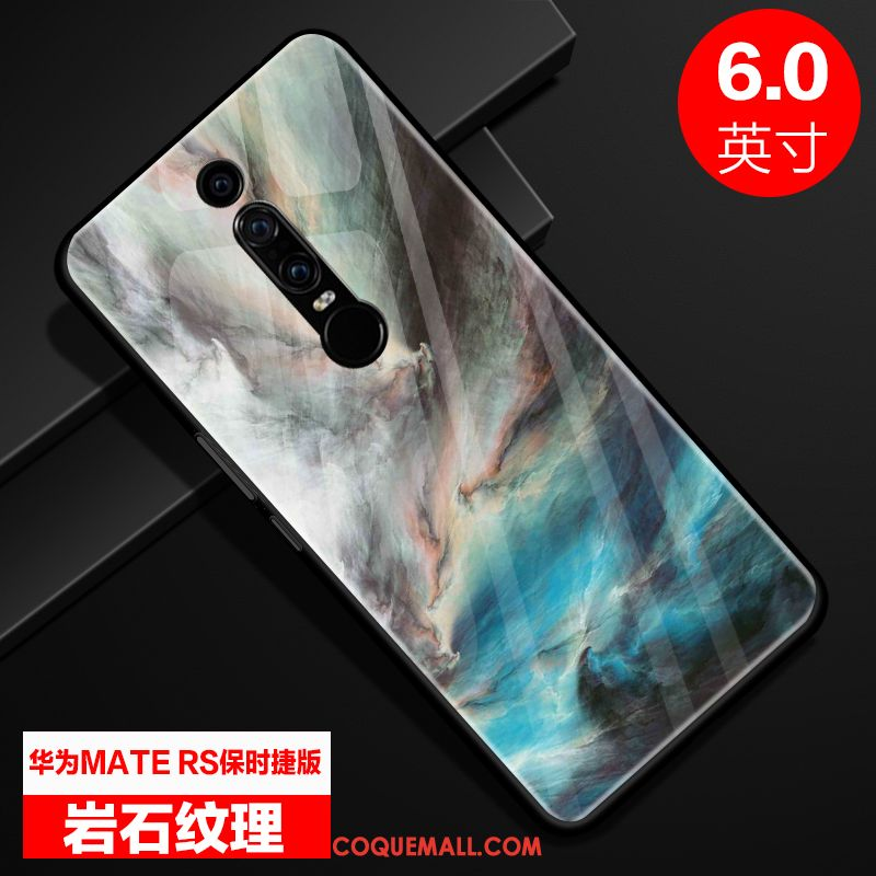 Étui Huawei Mate Rs Incassable Luxe Personnalité, Coque Huawei Mate Rs Verre Protection