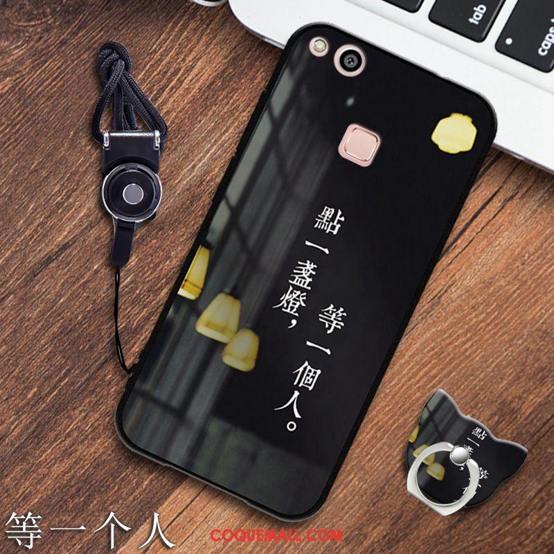coque huawei p10 noir silicone
