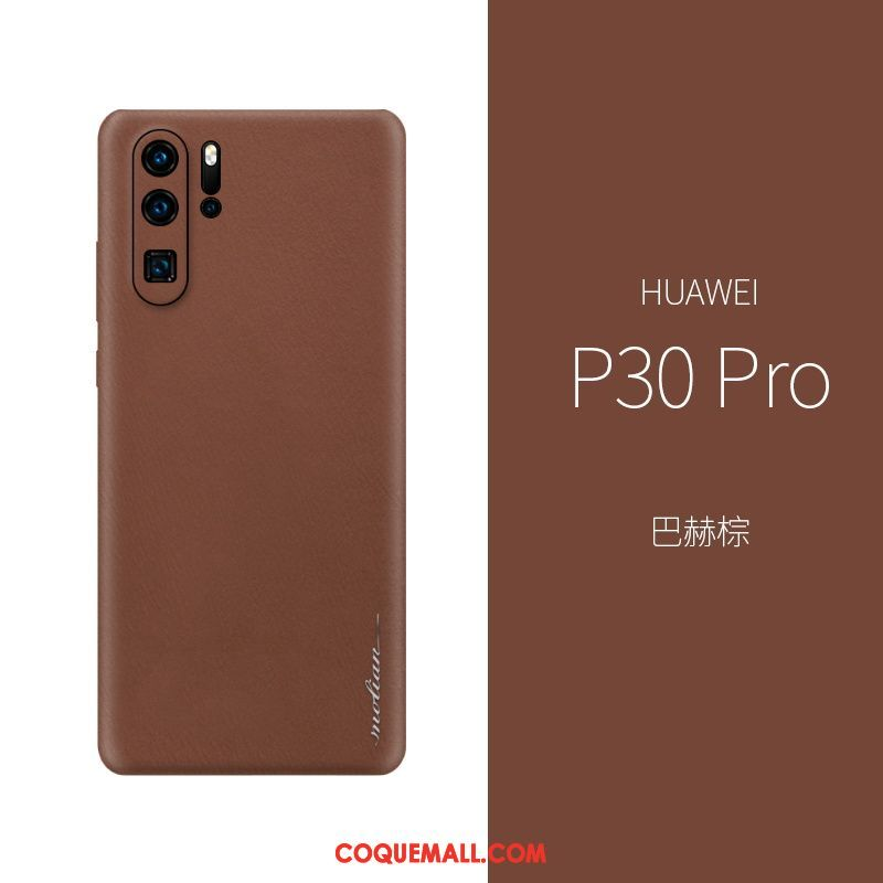 huawei p30 pro coque cuir