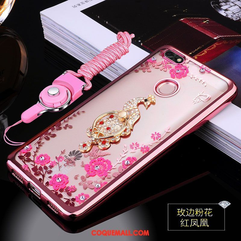coque huawei y6 pro 2017 rose
