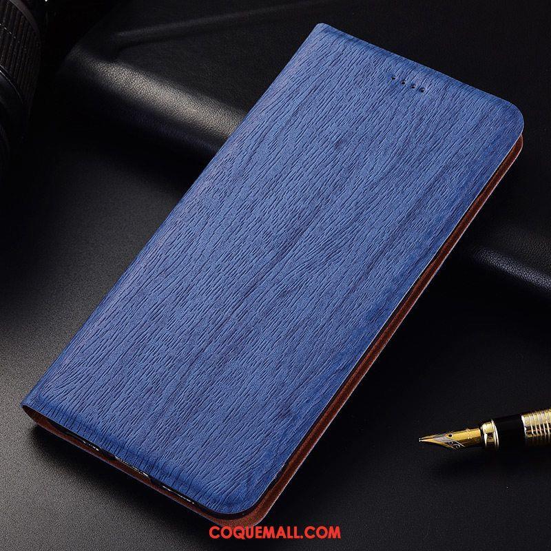 Étui Lg Q6 Modèle Fleurie Tout Compris Étui En Cuir, Coque Lg Q6 Bleu Protection