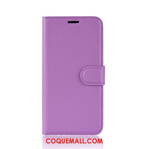 Étui Moto G8 Power Modèle Fleurie Incassable Litchi, Coque Moto G8 Power En Cuir Business