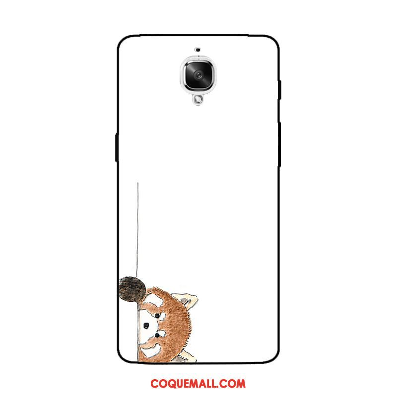 Étui Oneplus 3t Gaufrage Ornements Suspendus Animal, Coque Oneplus 3t Protection Ours Braun