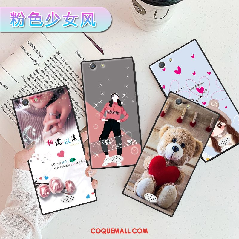 Étui Oppo A31 Net Rouge Support Incassable, Coque Oppo A31 Protection Rose