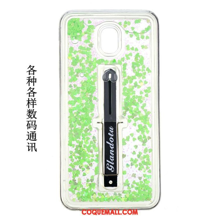 Étui Samsung Galaxy J5 2017 Étoile Incassable Vert, Coque Samsung Galaxy J5 2017 Quicksand Protection