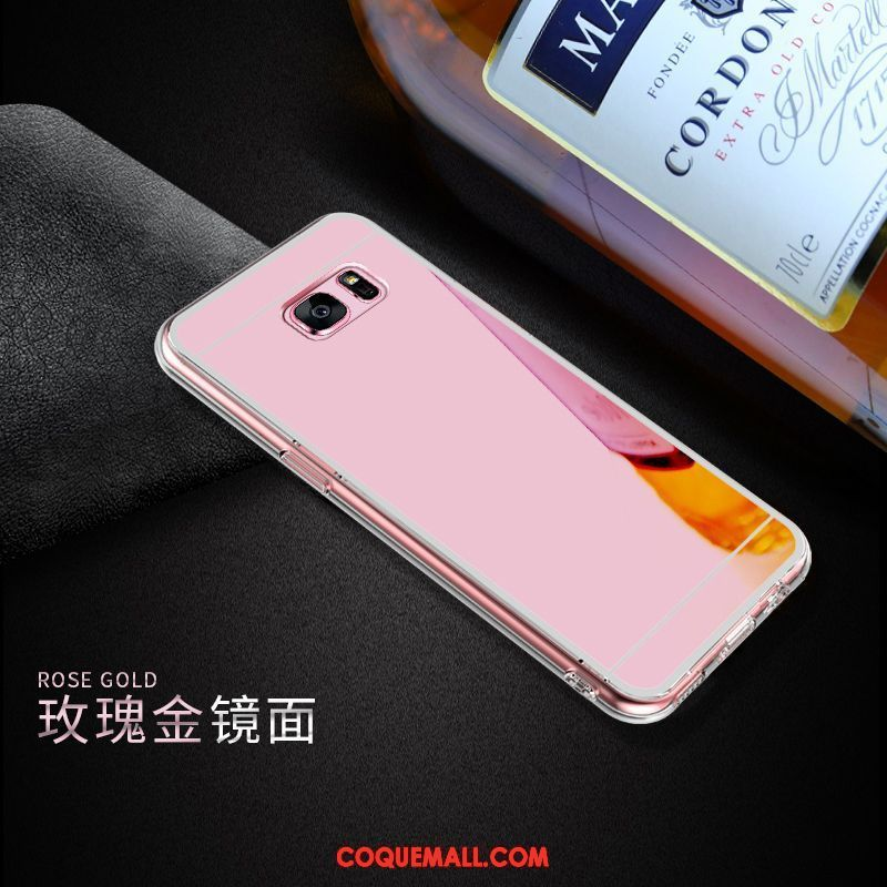 coque galaxy s7 or rose