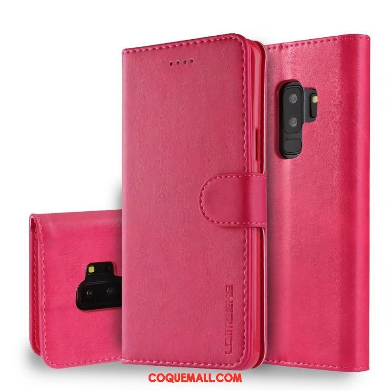 Étui Samsung Galaxy S9+ Business Protection Étoile, Coque Samsung Galaxy S9+ Incassable Étui En Cuir