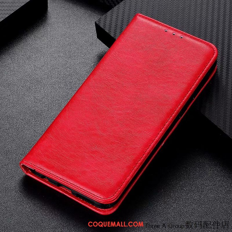 Étui Sony Xperia 10 Ii Incassable Rouge Protection, Coque Sony Xperia 10 Ii Téléphone Portable Simple