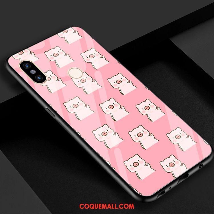 Étui Xiaomi Mi Max 3 Téléphone Portable Mignonne Rouge, Coque Xiaomi Mi Max  3 Dessin 825f3167744