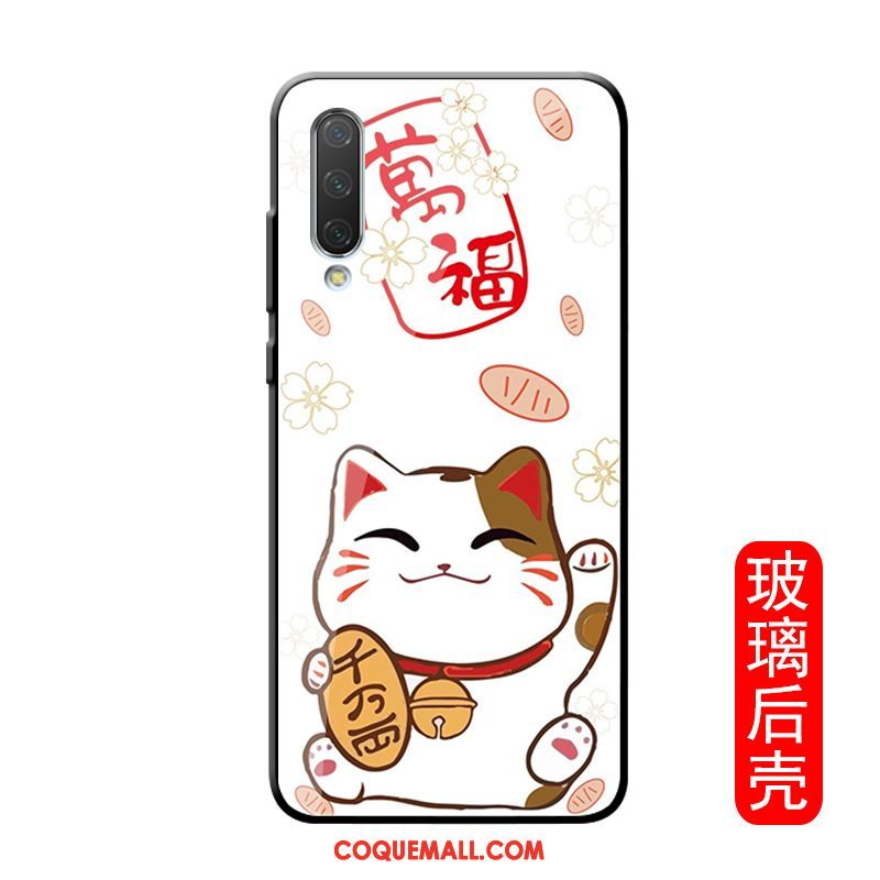 Étui Xiaomi Redmi Note 8t Simple Blanc Verre, Coque Xiaomi Redmi Note 8t Net Rouge Petit Beige