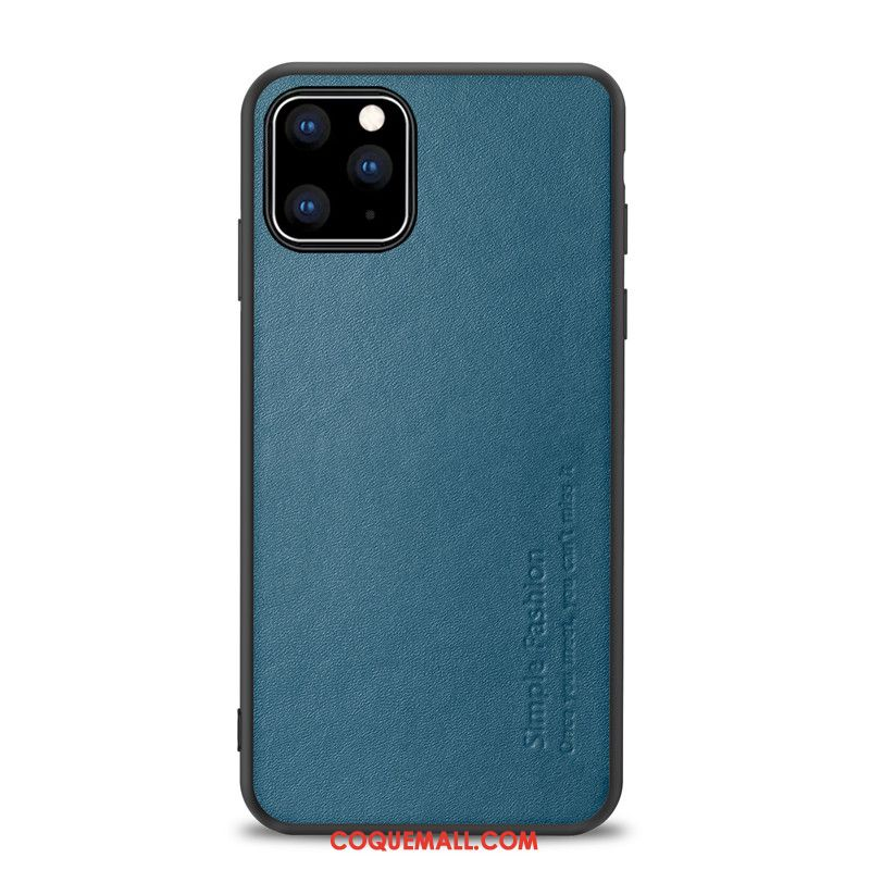 Étui iPhone 11 Pro Max Luxe Incassable Business, Coque iPhone 11 Pro Max En Cuir Modèle Fleurie