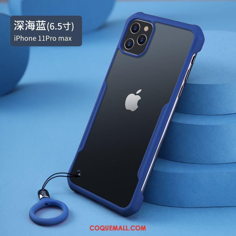 Étui iPhone 11 Pro Max Transparent Luxe Protection Coque iPhone 11 Pro Max Marque De Tendance Personnalité 20087