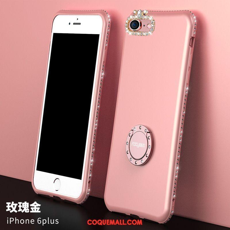Étui iPhone 6 6s Plus Nouveau Tout Compris Net Rouge Coque iPhone 6 6s Plus Silicone Rose 433