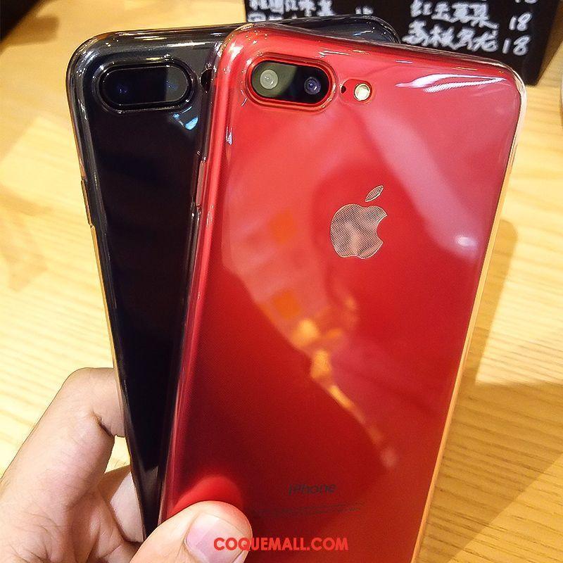 Étui iPhone 7 Plus Fluide Doux Incassable Nouveau, Coque iPhone 7 Plus Transparent Légère
