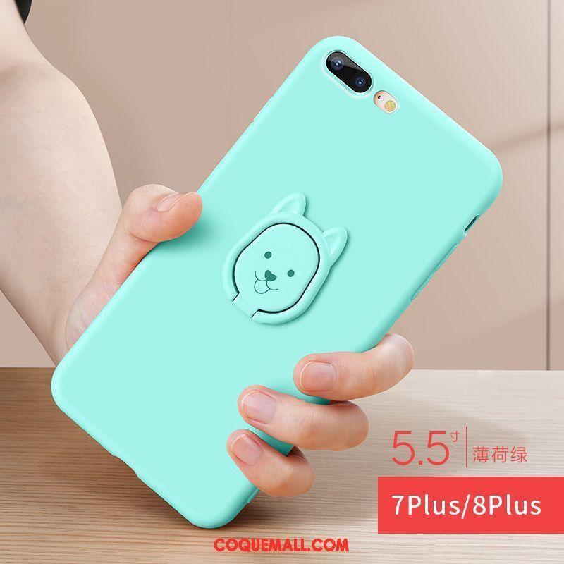 Étui iPhone 7 Plus Marque De Tendance Téléphone Portable Ornements Suspendus Coque iPhone 7 Plus Tout Compris Dessin Animé 715