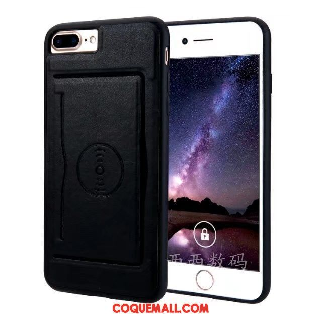 coque iphone 7 etui noir