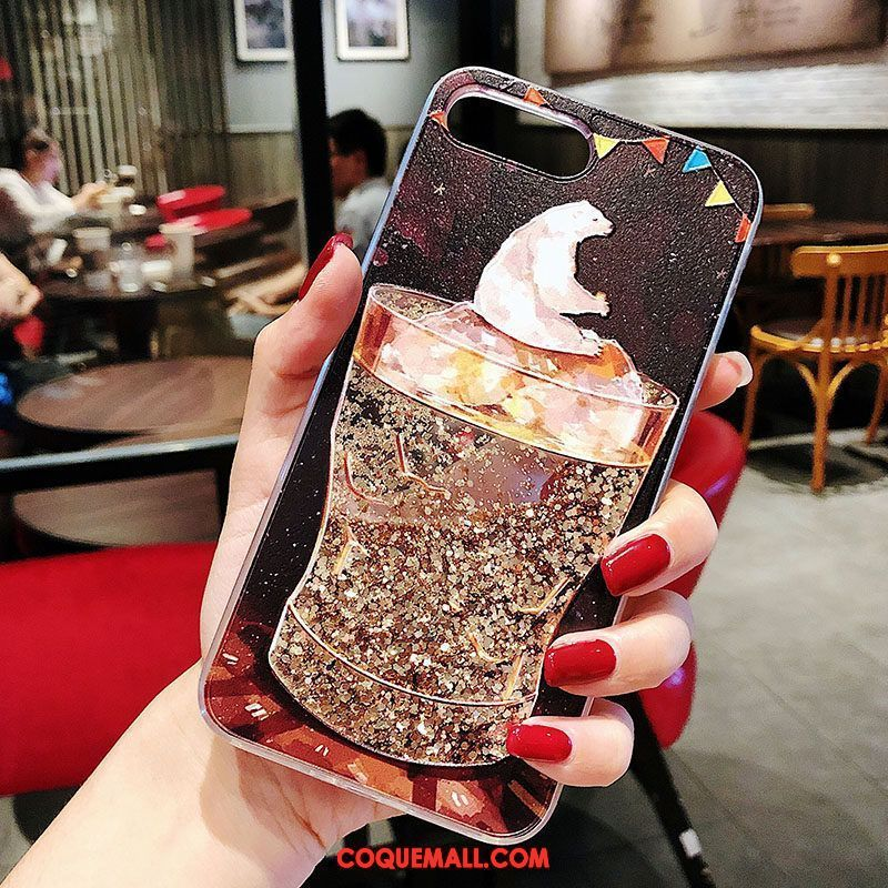 coque iphone 8 plus coeur rouge