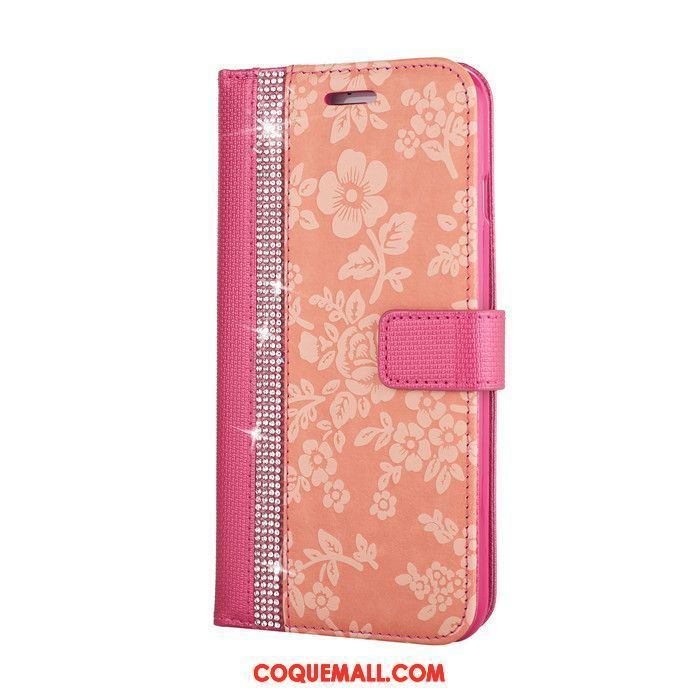 coque iphone 8 plus rouge rose