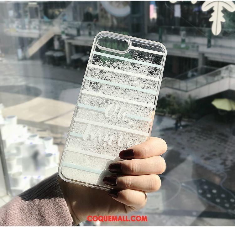 coque iphone 8 plus argenté