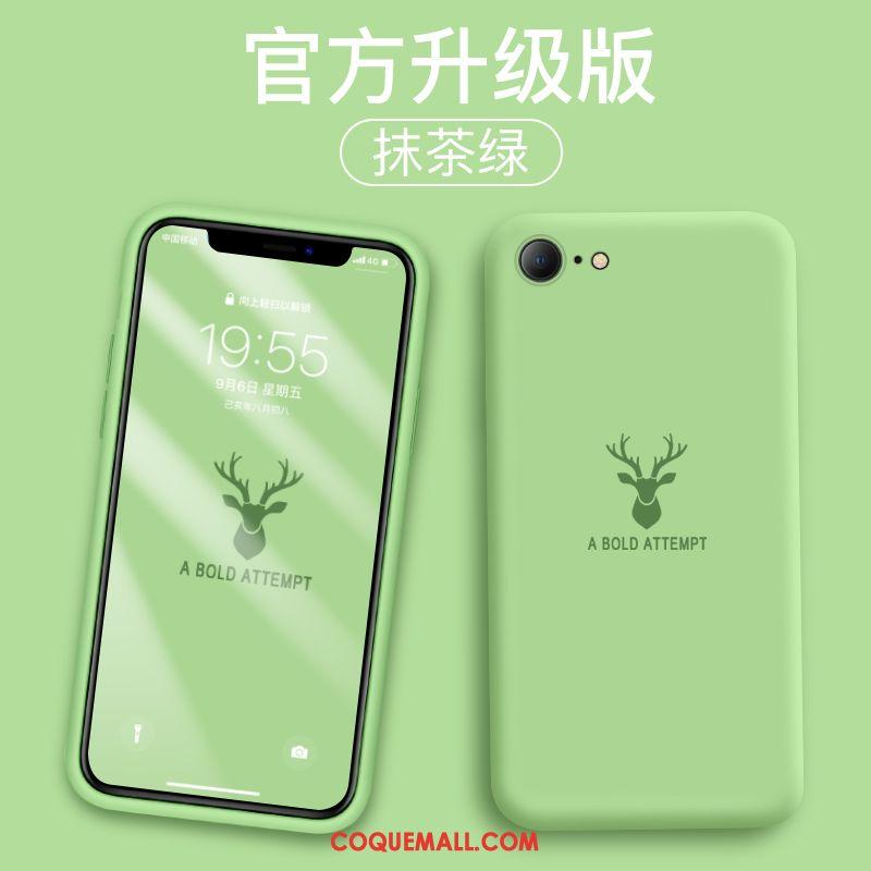 Étui iPhone Se 2020 Cerf Dessin Animé Vert Coque iPhone Se 2020 Tout Compris Nouveau 23106