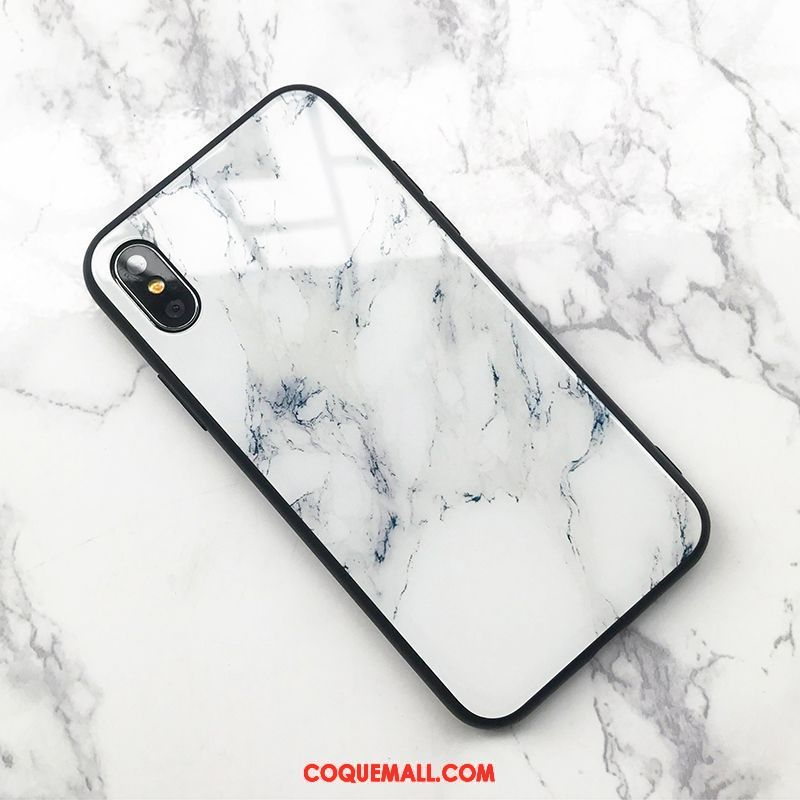 Étui iPhone X Grand Personnalité Téléphone Portable Coque iPhone X Modèle Fleurie Silicone 999
