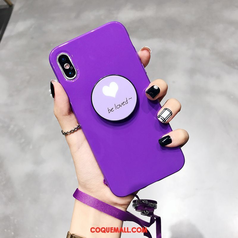 support coque iphone x