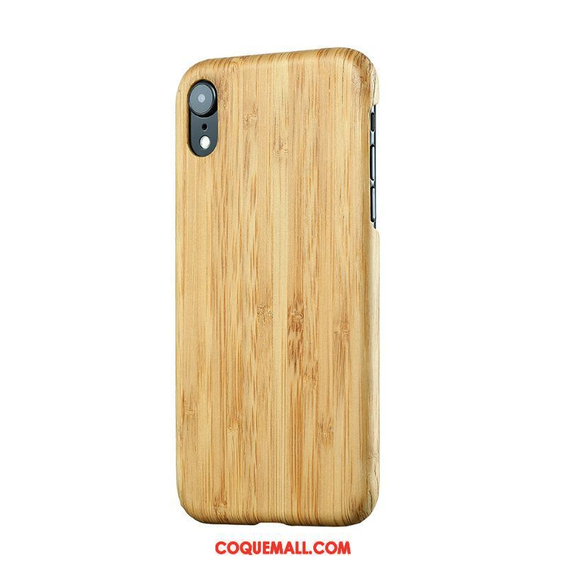 coque iphone xr bois