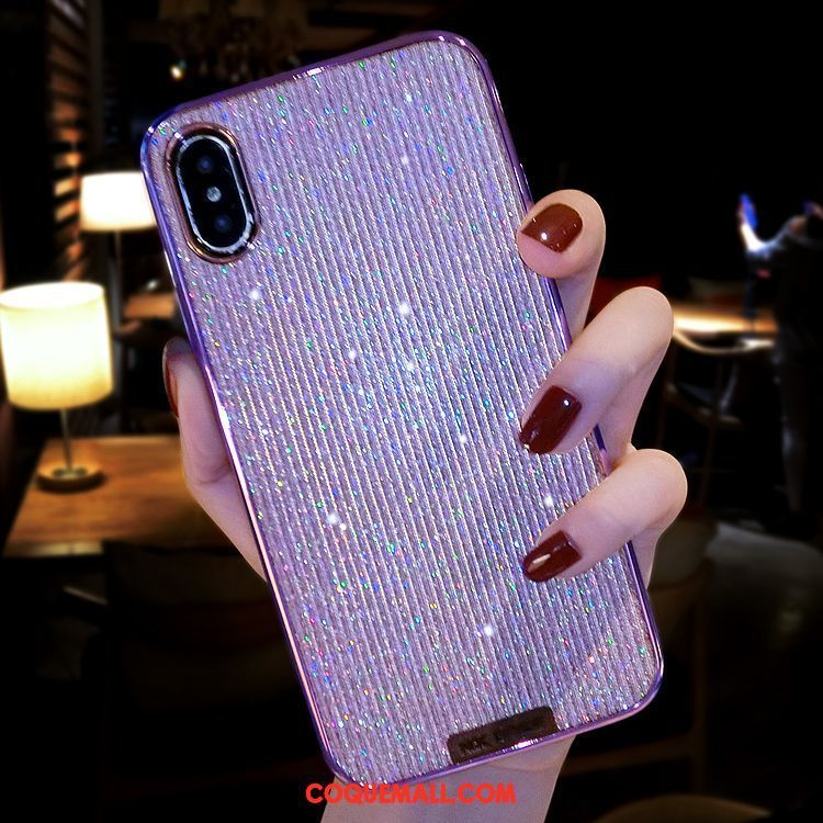 coque xs iphone rose