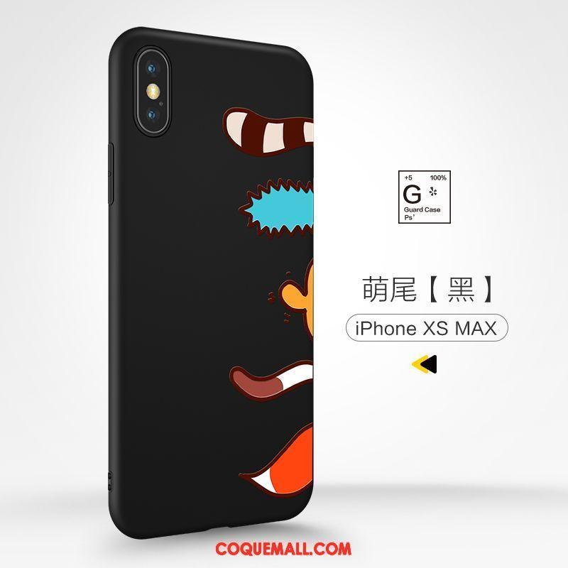 coque iphone xs max silicone dessin