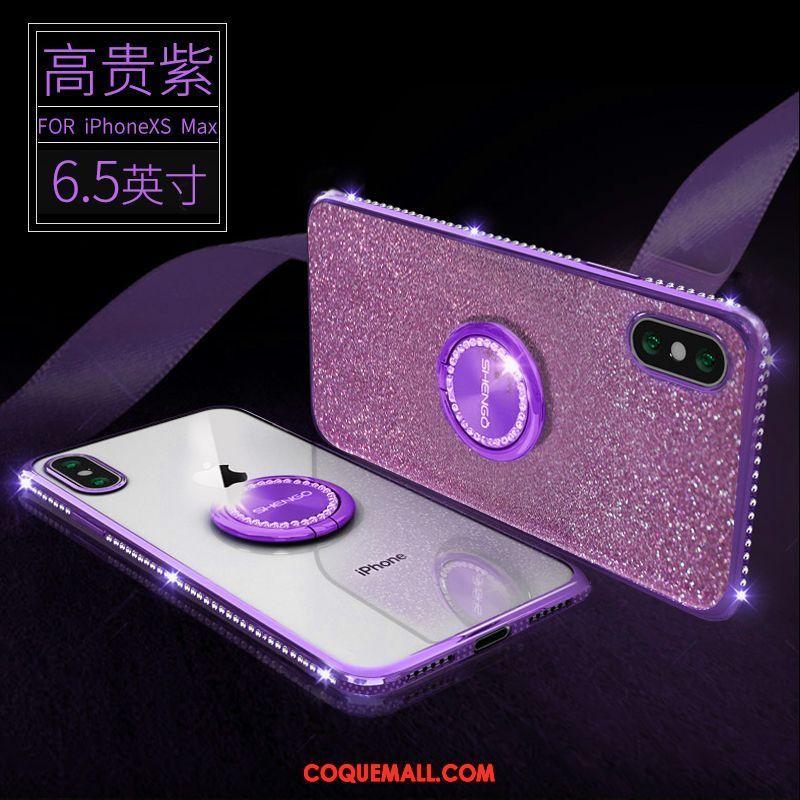 coque iphone xs max violet
