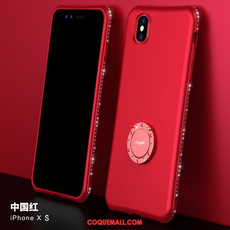 coque iphone xs support